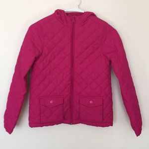 Children's Place Aurora Pink Quilted Jacket (7/8)
